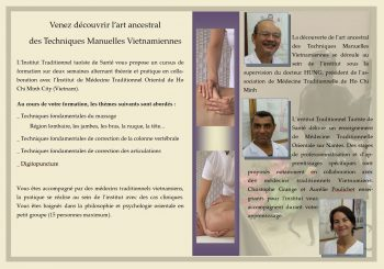 Stage Massage Traditionnel Vietnamien